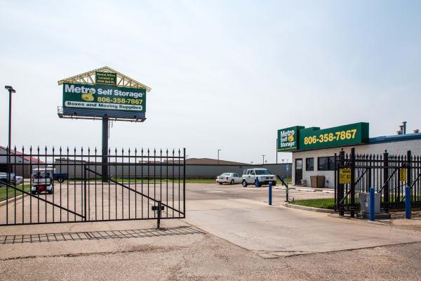Gated facility at Metro Self Storage in Amarillo, TX