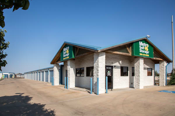 Office at Metro Self Storage in Amarillo, Texas