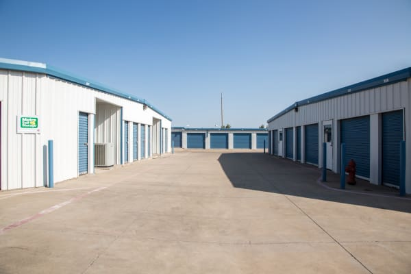 Metro Self Storage offers outdoor units in Amarillo, Texas