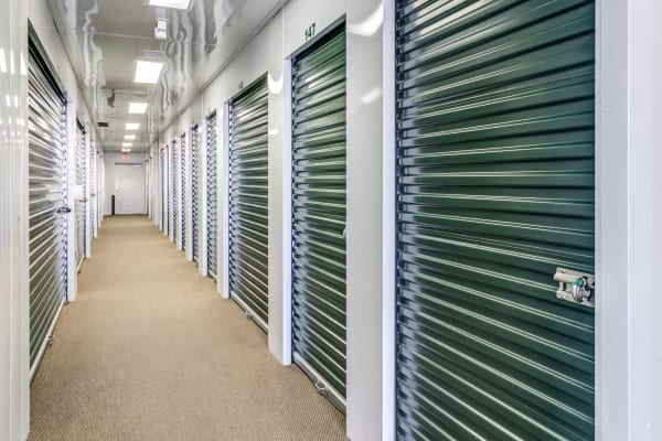 Interior units at Metro Self Storage in Amarillo, Texas