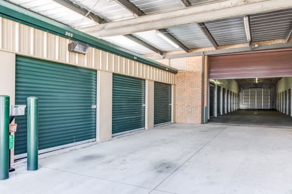 Metro Self Storage offers indoor units in Amarillo, Texas