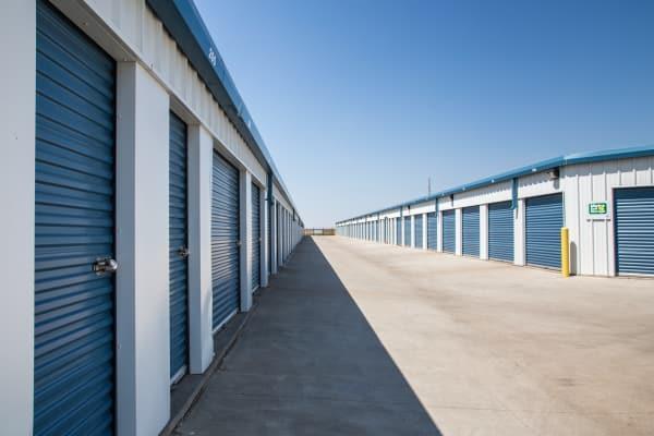 Outdoors units at Metro Self Storage in Amarillo, Texas