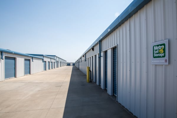 Accessible outdoor units at Metro Self Storage in Amarillo, Texas