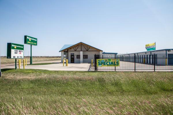 Exterior view at Metro Self Storage in Amarillo, Texas