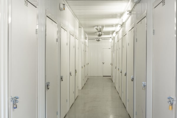 Indoor units hallway at Metro Self Storage in Amarillo, Texas