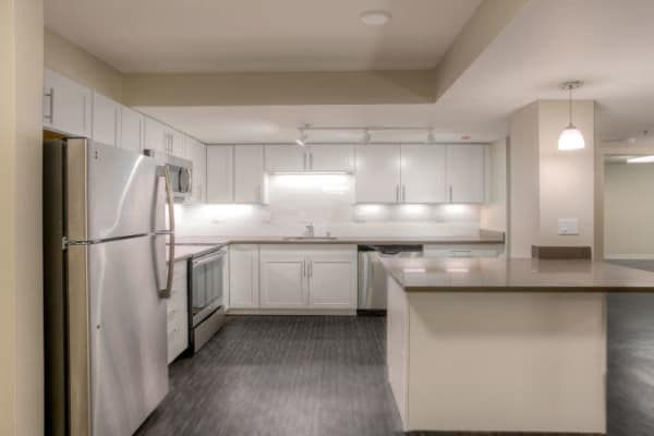 Granite counter tops at apartments in Renton