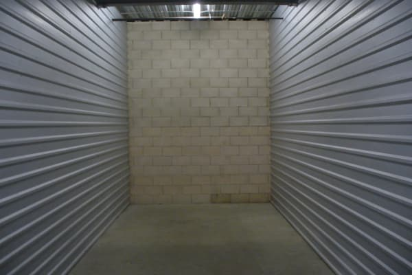 A storage unit ready for your stuff at One Stop Storage