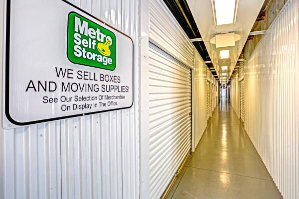 Interior Units at Metro Self Storage in Largo, FL