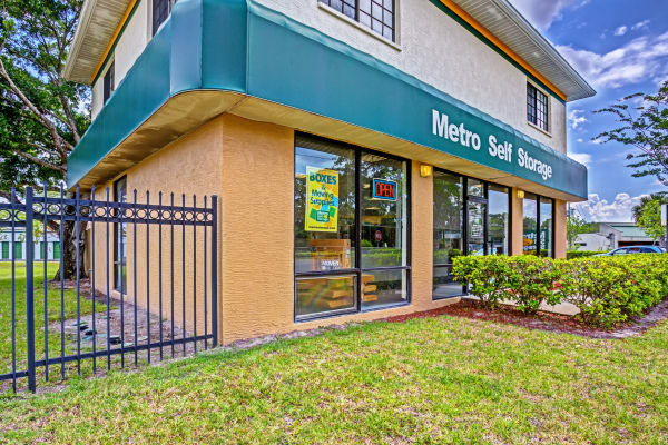 Office at Metro Self Storage in Largo, FL