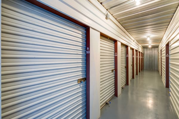 Interior Units at Metro Self Storage in Bedford, TX