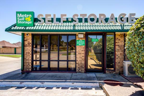 Office at Metro Self Storage in Bedford, TX