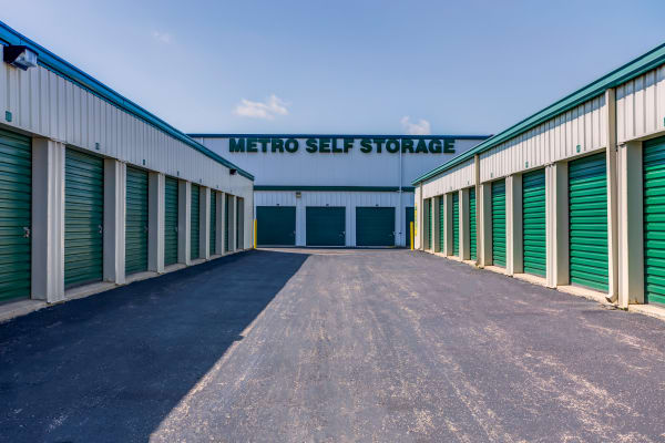 Exterior Units at Metro Self Storage in Batavia, IL