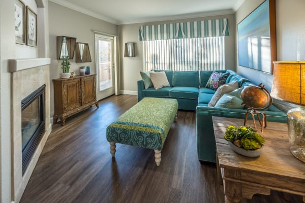 spacious apartment floor plans in Santa Clara