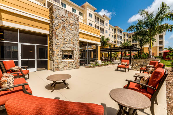 Information about the amenities available at Fort Myers senior living!