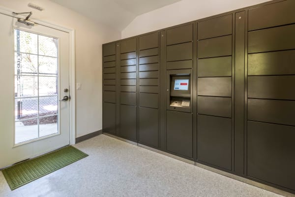 24-Hour Package Lockers at Village Oaks in Chino Hills, CA