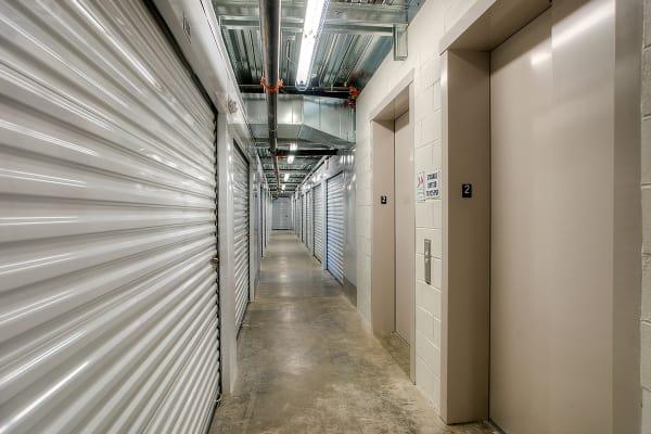 Interior Hallway of StorQuest Express - Self Service Storage in Tampa