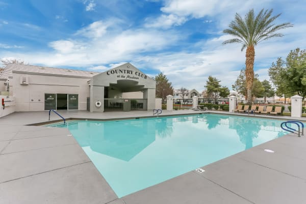 Las Vegas Nv Senior Apartments For Rent Country Club At The Meadows
