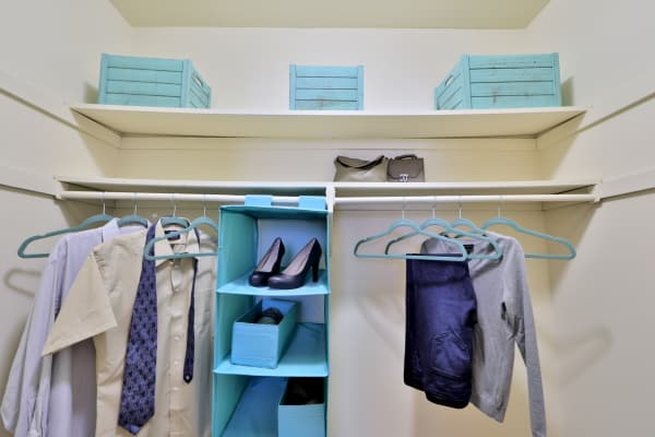 Our apartments in Nottingham, Maryland showcase spacious walk-in closets