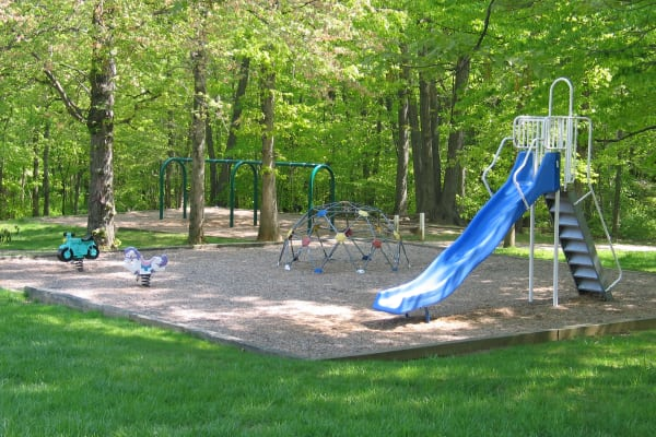 Beautiful playground at Taylor Park Apartment Homes in Nottingham, Maryland