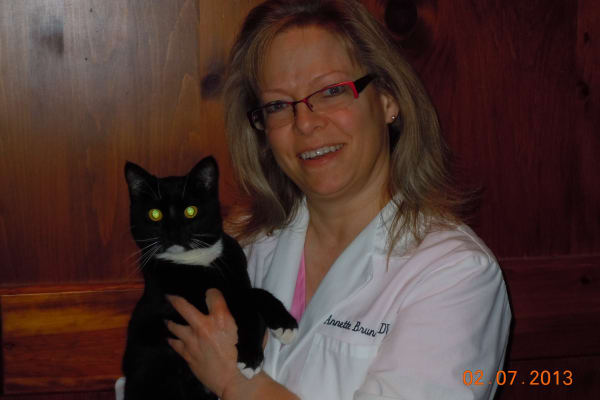 Dr. Annette Brunner works at Pusch Ridge Pet Clinic