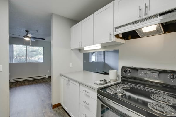Kitchen at Bridge Creek Apartments in Vancouver