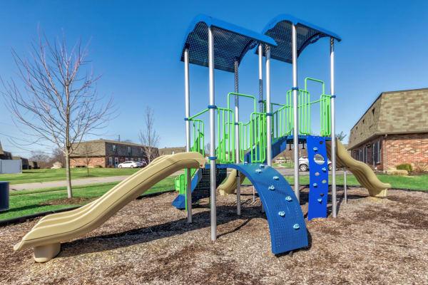 Playground at Maple Oaks Estates in Middletown, Ohio