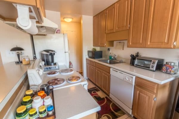 Parkview offers a quiet kitchen in Concord, California