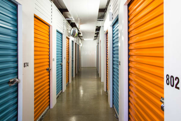 Indoor units at Metro Self Storage in Amarillo
