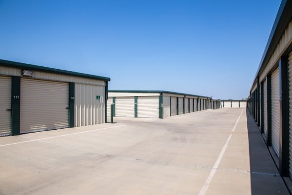 Outdoor units at Metro Self Storage in Amarillo, Texas