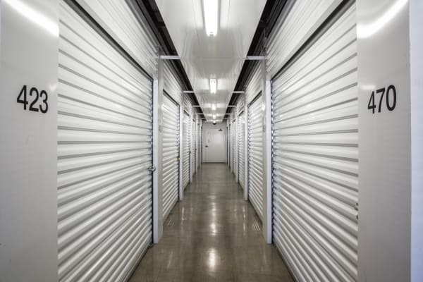 Indoor units at Metro Self Storage in Amarillo, Texas
