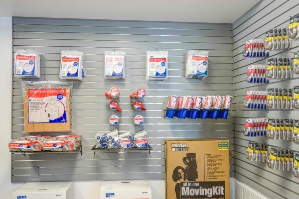 Packaging supplies at Metro Self Storage in Bloomington, Minnesota