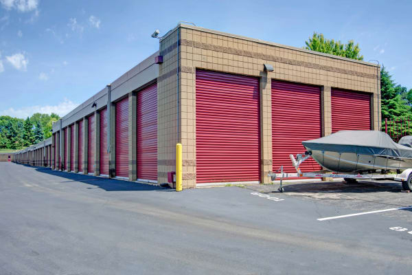 Boat and outdoor units at Metro Self Storage in Bloomington, Minnesota