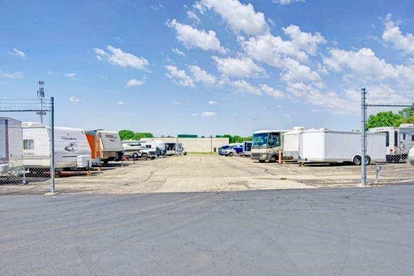 RV and boat storage at Metro Self Storage in Bloomington, Minnesota