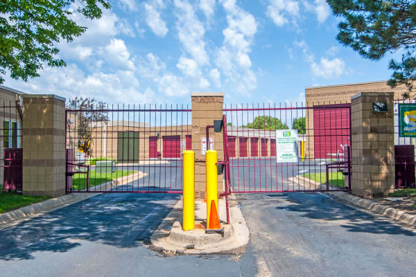 Metro Self Storage offers a gate with security panel in Bloomington, Minnesota