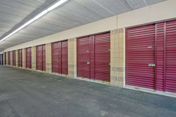 Interior units at Metro Self Storage in Bloomington, Minnesota