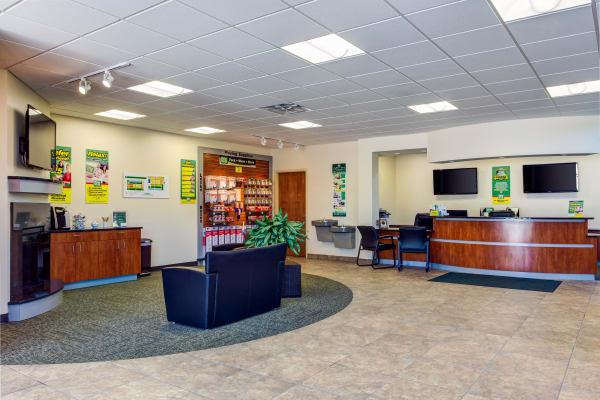 Office interior at Metro Self Storage in Deerfield, Illinois
