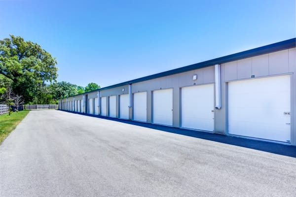 Outdoor units at Metro Self Storage in Deerfield, Illinois