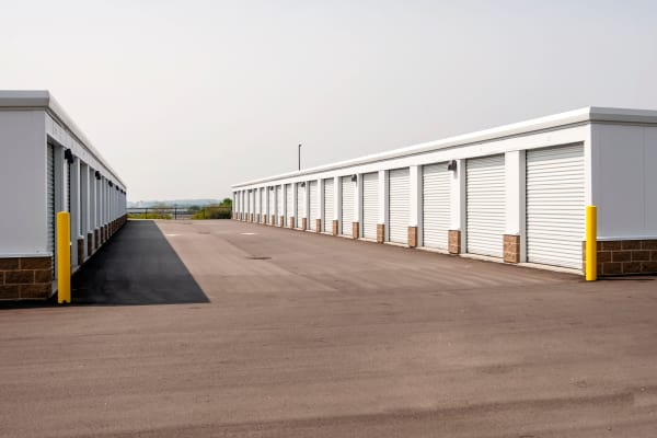 Outdoor units at Metro Self Storage in Burnsville, Minnesota
