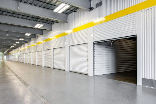 Open indoor unit at Metro Self Storage in Burnsville, Minnesota