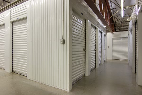Indoor units at Metro Self Storage in Sarasota, Florida