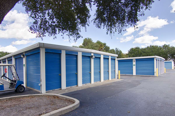Outdoor units at Metro Self Storage in Sarasota, Florida