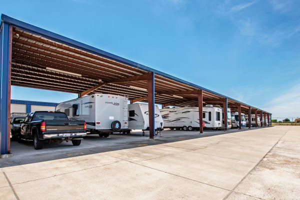 RV Storage at Metro Self Storage in Corpus Christi, Texas