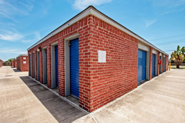 Outdoor units blocks at Metro Self Storage in Corpus Christi, Texas