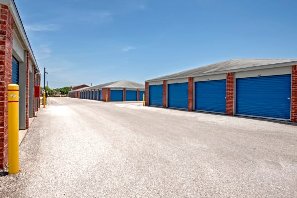Outdoor units at Metro Self Storage in Corpus Christi, Texas