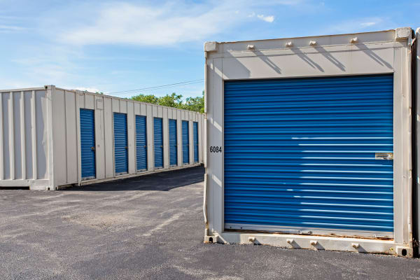 Storage units at Metro Self Storage in Des Plaines, Illinois