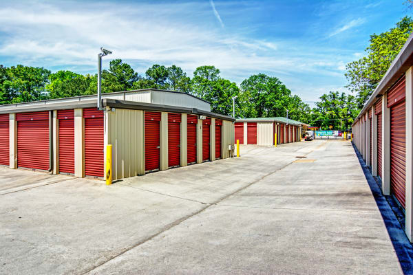 Outdoor units at Metro Self Storage in Decatur, Georgia