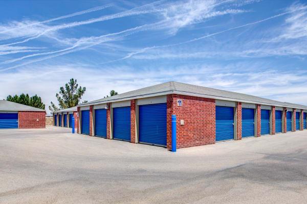 Outdoor units at Metro Self Storage in El Paso, Texas
