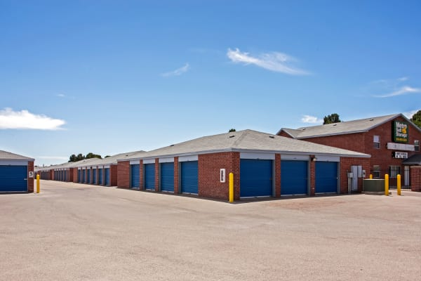 Outdoor units at Metro Self Storage in El Paso, Texas