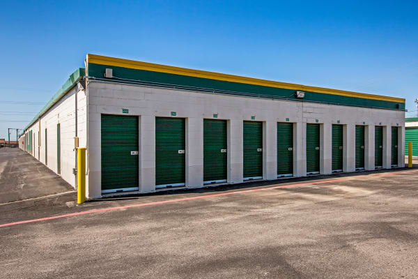 Outdoor units at Metro Self Storage in Fort Worth, Texas