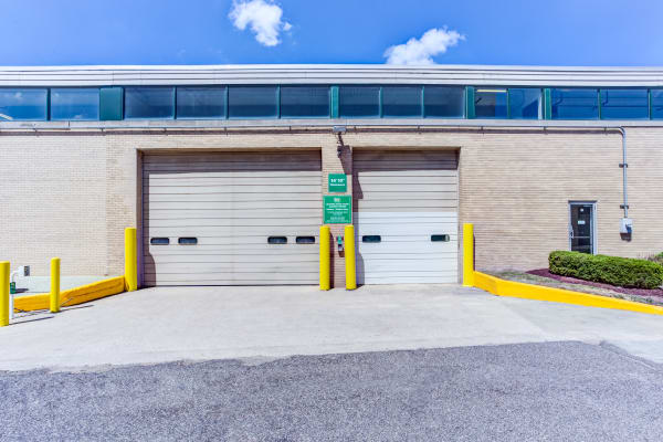 Loading dock exterior view at Metro Self Storage in Franklin Park, Illinois